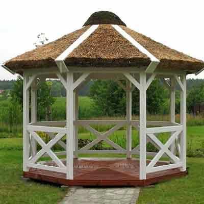 Altana ogrodowa Quatro Oval