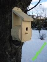 Budka dla ptaków mniejszych