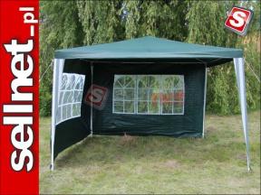 Pawilon namiot ogrodowy altana 3x3 m + 2 ściany T1