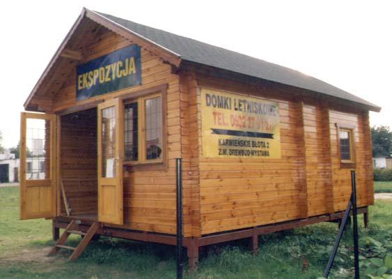 Domek drewniany ANIA gr. ściany 28 mm