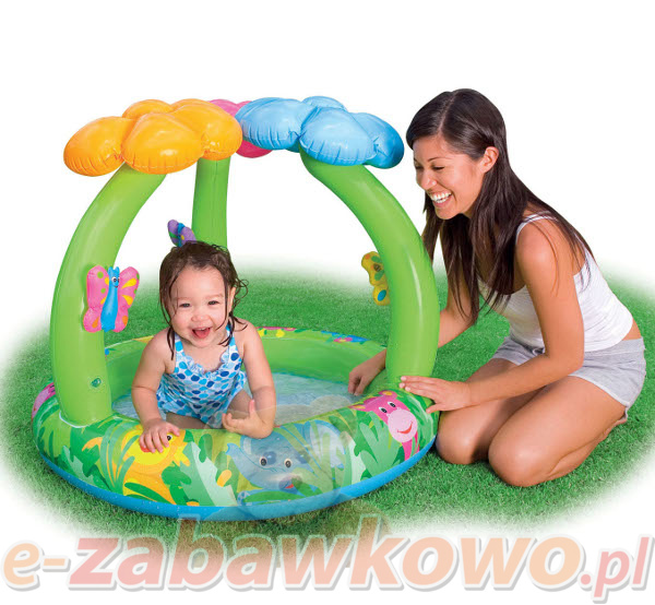 Brodzik/basen z kwiatkami 57419