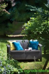 Dwuosobowa sofa Love Seat, Keter